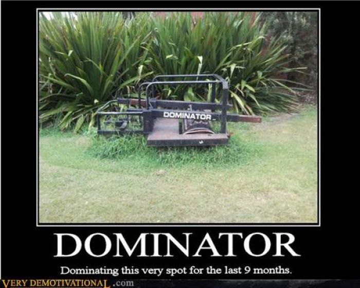 Selection of funny demotivational posters and there are hundreds of