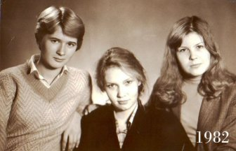 Three Girlfriends 30 Years Ago and Today