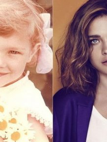 Top Models as Kids