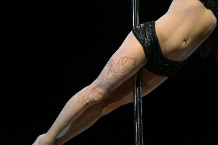 Pole Dancing Championships Held in New York