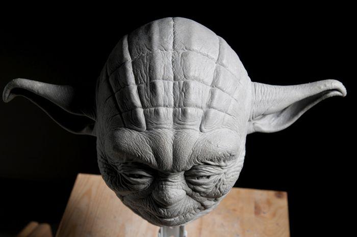 sculpture yoda