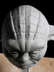 Sculpture of Jedi Master Yoda