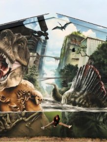 The Jurassic Park Wall Art