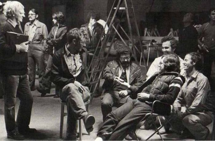 """Behind the Scenes Photos of """"Raiders of the Lost Ark"""""""