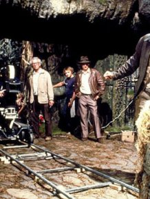 "Behind the Scenes Photos of ""Raiders of the Lost Ark"""
