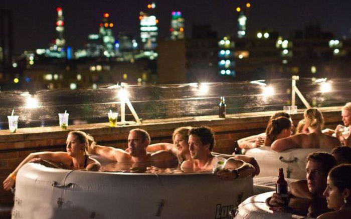 Hot Tub Outdoor Cinema