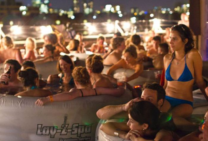 Hot Tub Outdoor Cinema