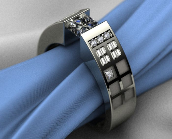 Geeky Engagement Rings