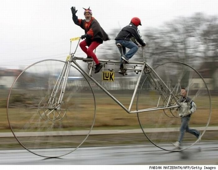 Funny and Weird Bicycles
