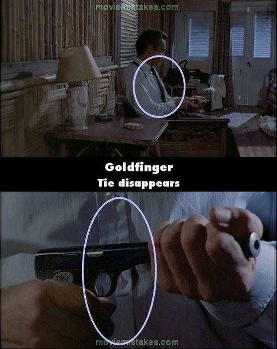 Bond Movie Bloopers
