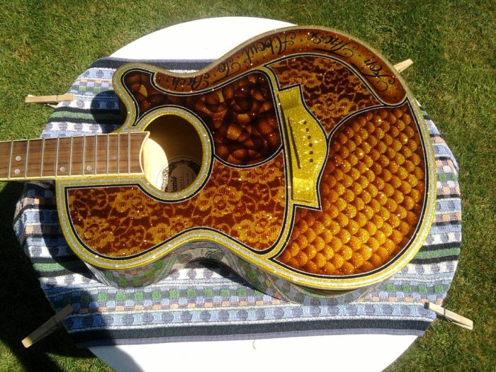 Awesome Guitar Custom Paint Jobs
