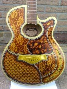 Awesome Guitar Custom Paint Jobs