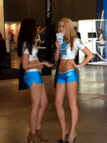 Girls of the Russian Game Expo