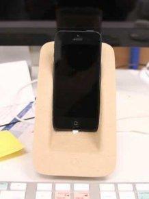 DIY iPhone 5 Dock