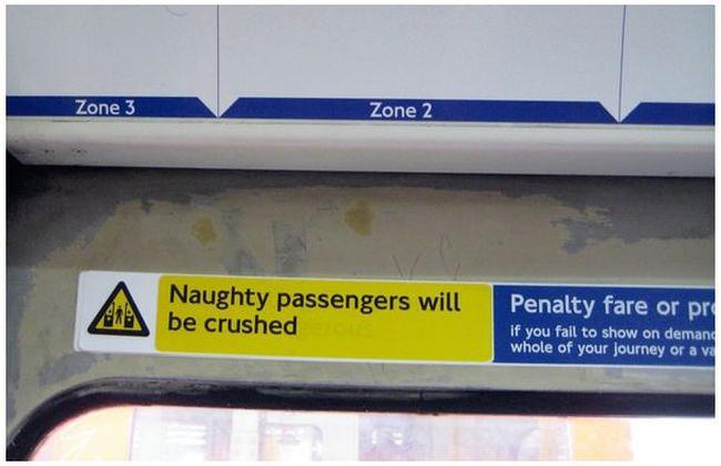 Trolling on the London Underground