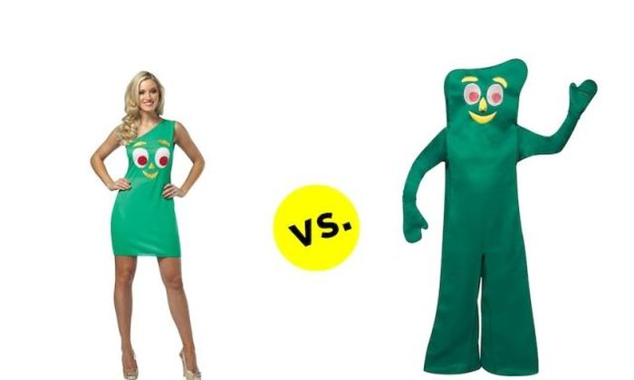 The Difference Between Men's And Women's Costumes