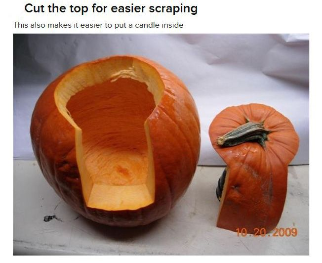 Pumpkin carving tutorial others