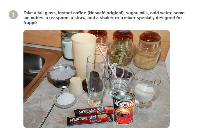 How to Make a Traditional Greek Frappe