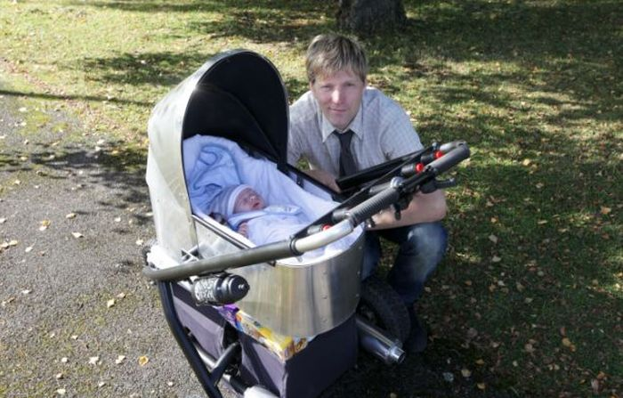 The Fastest Baby Stroller in the World