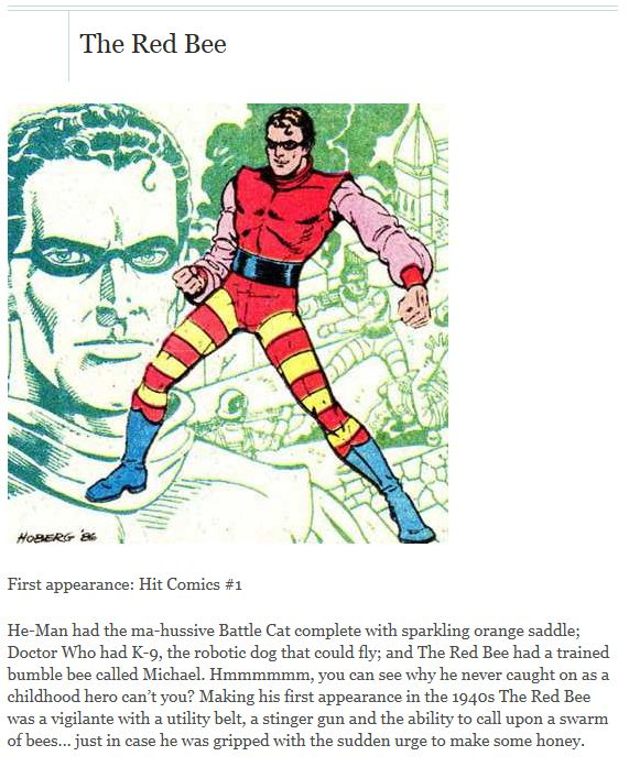The Worst Superheroes
