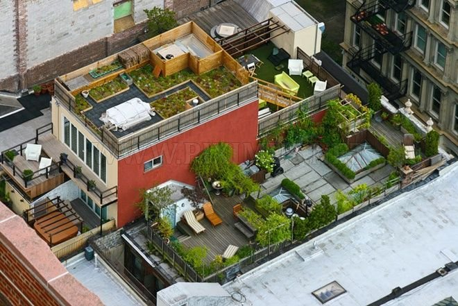Roofs of New York