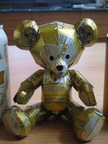 Beer Can Statues