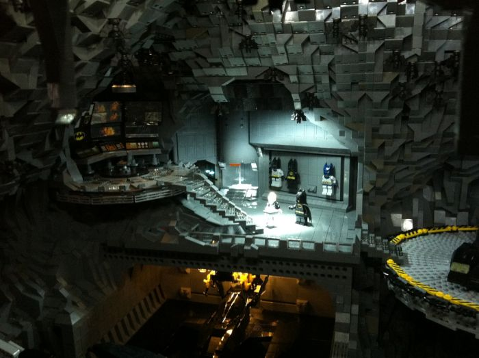 Epic LEGO Batcave