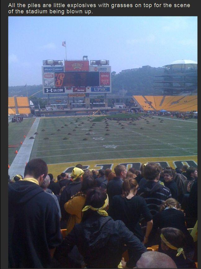 The Making of The Dark Knight Rises Stadium Scene