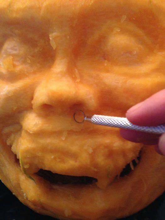 DIY Fright Night Pumpkin