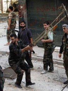 Grenade Launcher of Syrian Rebels
