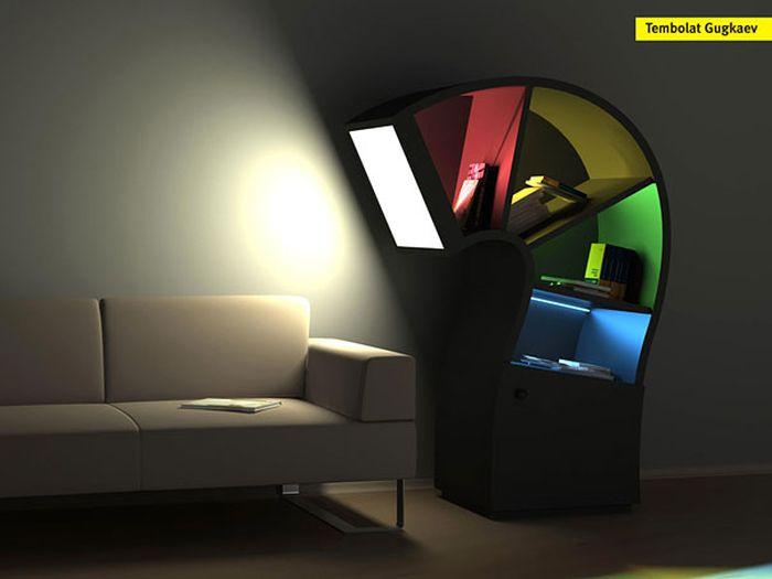 Creative Bookshelf Designs