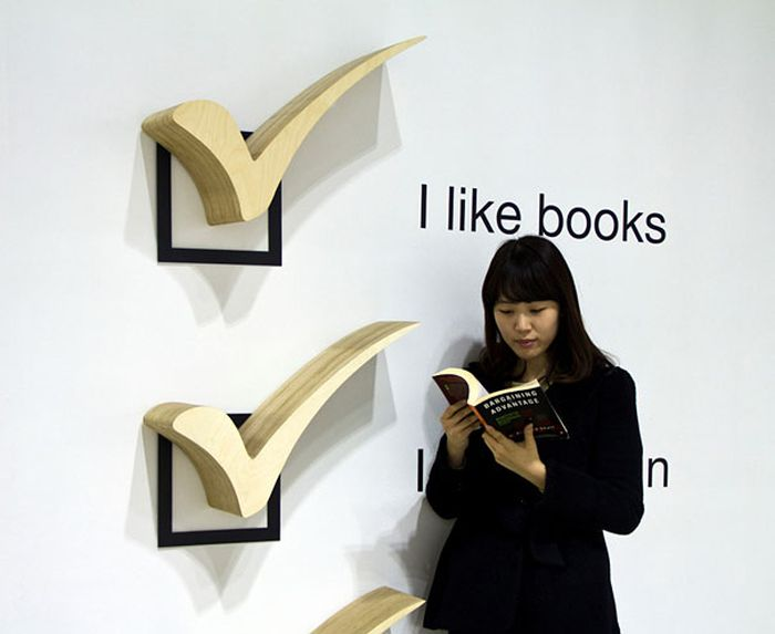 Creative Bookshelf Designs