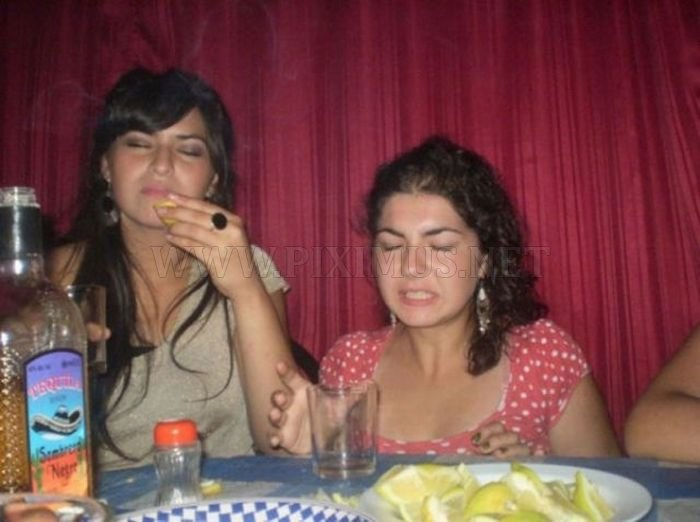 Funny Tequila Faces