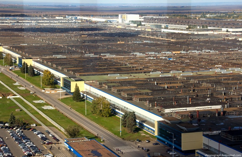 One of the largest European automobile plants - AutoVAZ