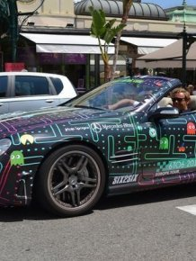 Mercedes-Benz SL 65 AMG of Pacman Fan