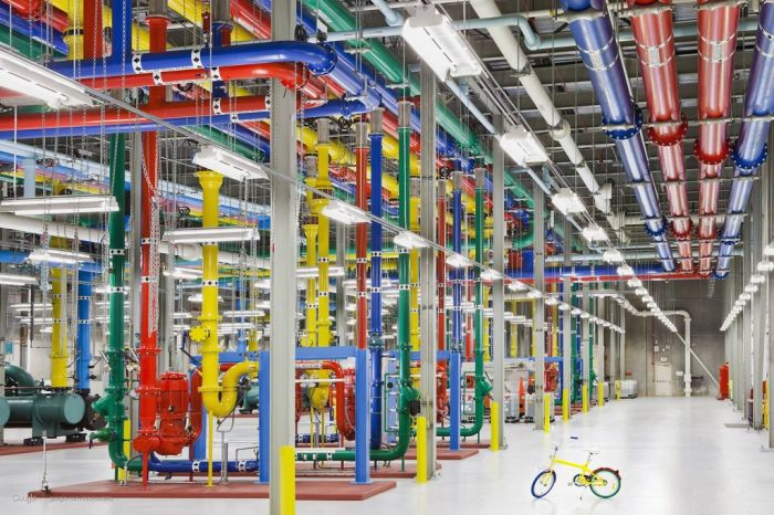 Google's Top-Secret Data Center