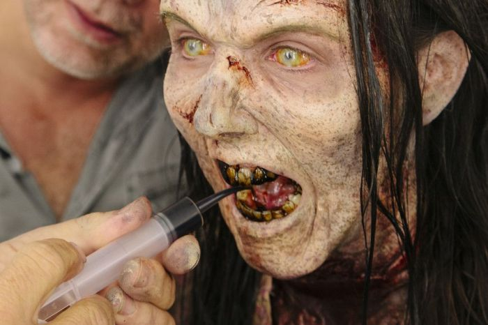 "The Making of ""The Walking Dead"" Zombie"