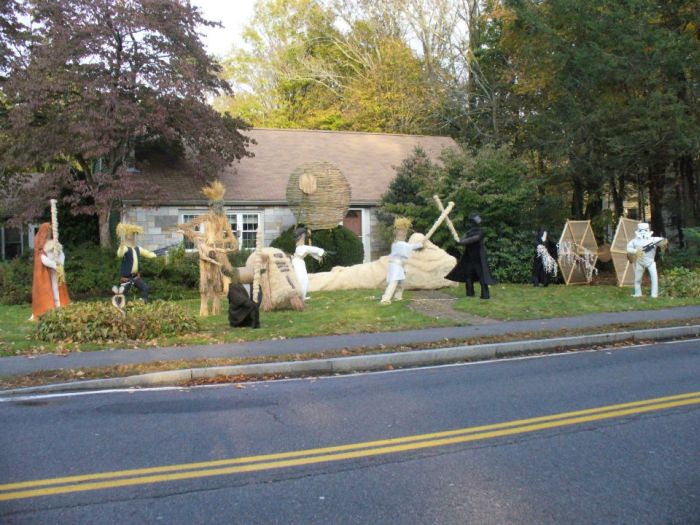 Star Wars Scarecrows