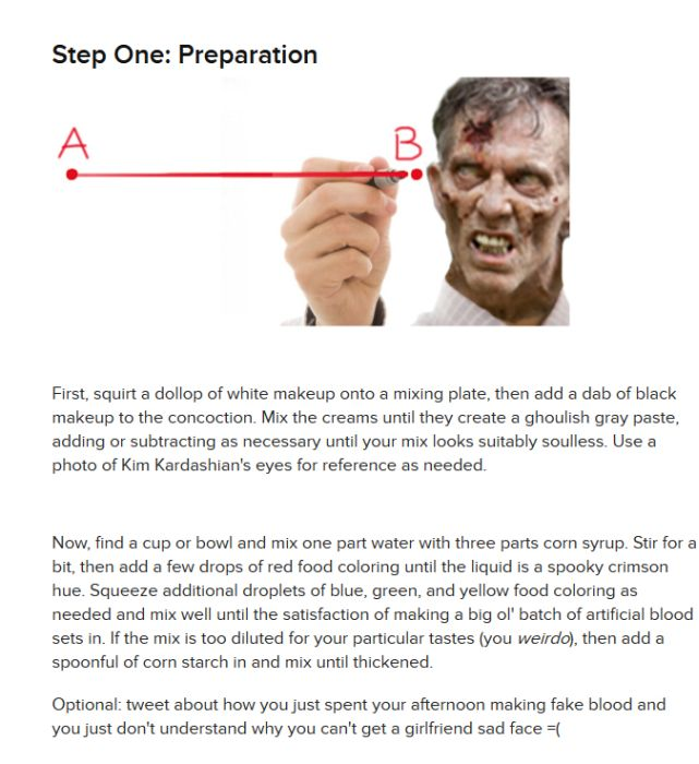 How To Make a Zombie Costume In 30 Minutes