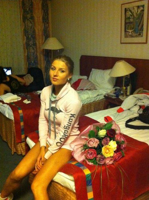 Catherine Vandareva is a Model Boxer