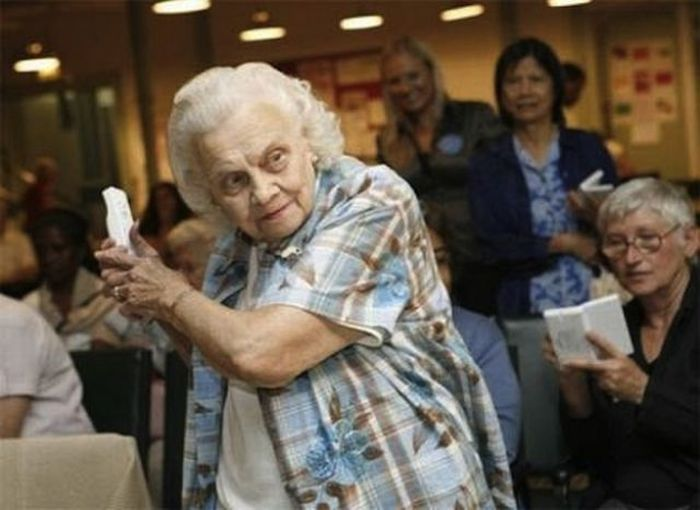 Seniors Have Fun