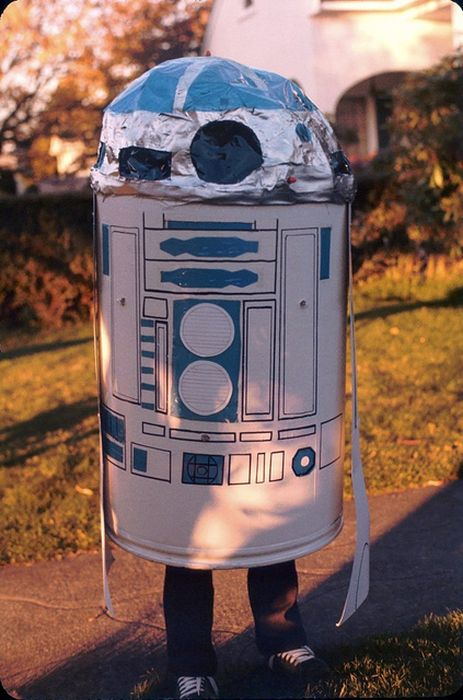 Vintage 1970's Homemade STAR WARS Costumes