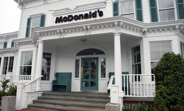 The Most Beautiful McDonalds In America
