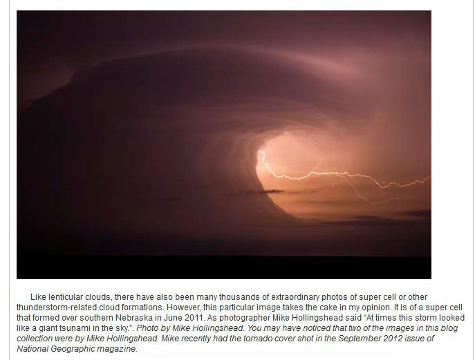 Unusual Weather-related Photos