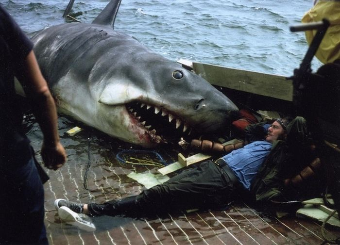 Behind The Scenes Photos From Horror Movies