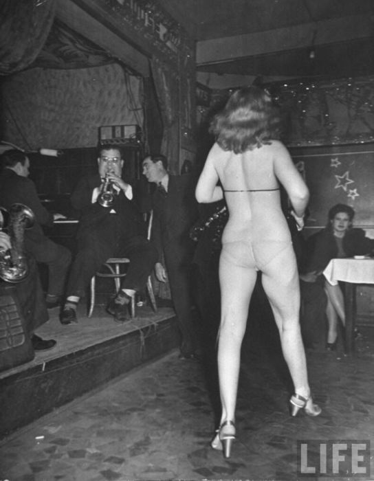 Strip Club in New Orleans in 1943, part 1943