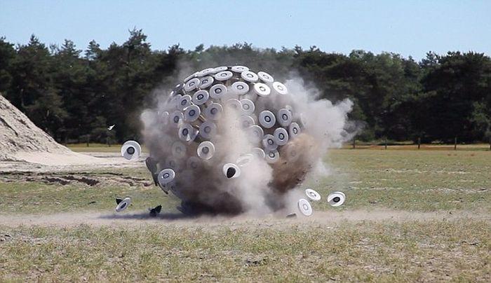 Anti-Landmine Device