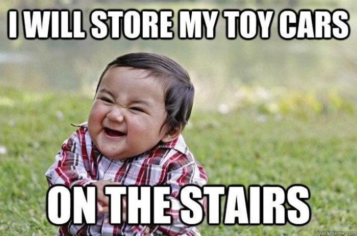 Evil Toddler Meme