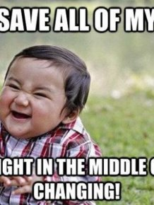 Evil Toddler Meme
