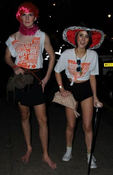 Manchester Students Dressed as Pimps and Hoes